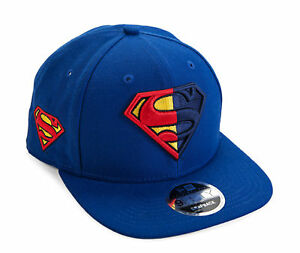 DC Comics Superman Symbol Split Side Snapback Baseball Cap