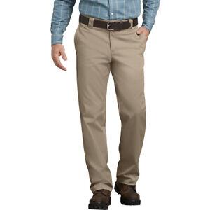 Dickies FLEX Tough Max Regular Fit Straight Leg Twill Work Pants Desert Khaki