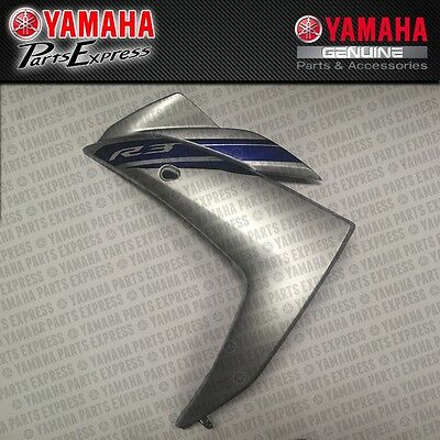 2015 2016 YAMAHA YZF R3 YZFR3 CENTER TAIL MIDDLE COWLING BLUE 1WD-F1731-00-P1