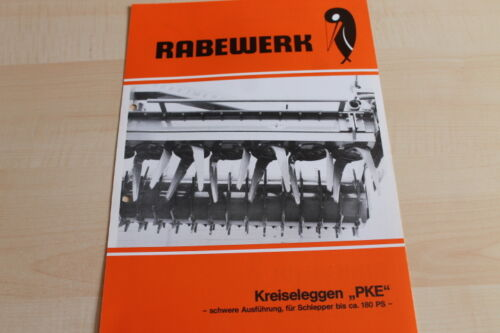 144426 Rabewerk Kreiselegge PKE Prospekt 04//1984