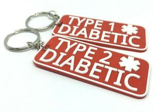 diabetic Keychain