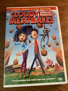 Cloudy With a Chance of Meatballs (DVD 2010 ~ 2-Disc Set) #136
