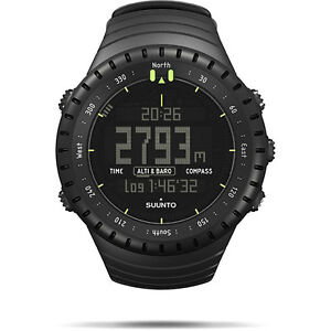 NEW Suunto Core All Black Military Outdoor Sports Watch SS014279010 /3615503