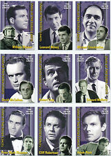 THE OUTER LIMITS COMPLETE SET OF STARS CARDS