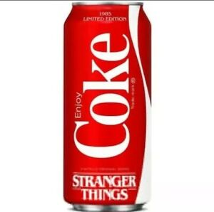 THE UPSIDE DOWN LIMITED EDITION New STRANGER THINGS COKE ZERO 16 OZ