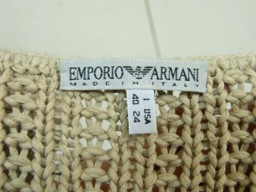 Coton 40 8911 Armani Emporio M Gr Brown F Pull 100 Rq1WYWTS