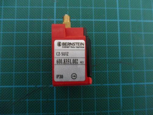 1 x Bernstein Sicherheitsschalter C2-SU1Z; 600.8351.002