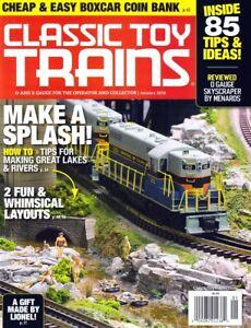 Classic Toy Trains Magazine January 2018