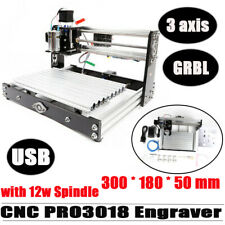 Cnc 3018 Pro Machine Router 3 Axis Engraving Mini Laser Pcb Wood Diy Mill Maker