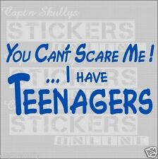U CAN'T SCARE ME - TEENS DECAL 210x105mm Capt'n Skullys Stickers Online MPN 1412