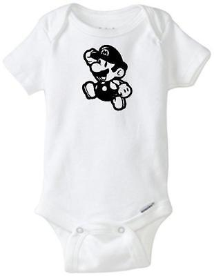 Super Mario Toad Custom Gerber Onesie infant-toddler Free Shipping