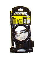 Master Lock D-lock Bike Lock 210 X 110mm X 13mm + Cable - 8274d