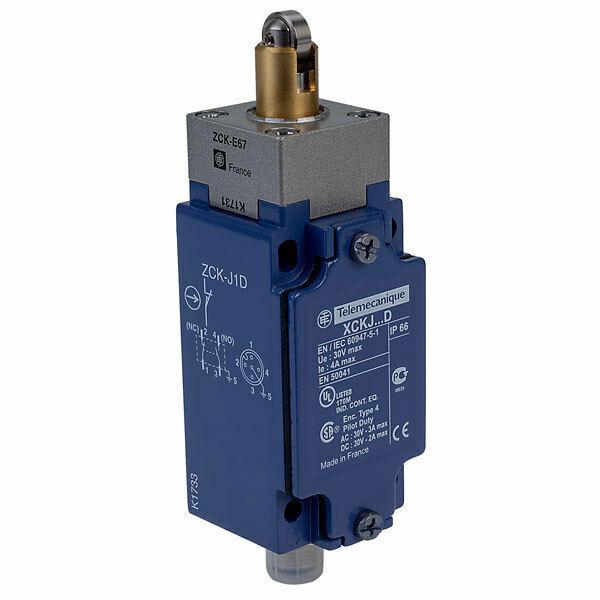 Schneider Electric Positionsschalter XCKJ167D IP66 Einzelpositionsschalter