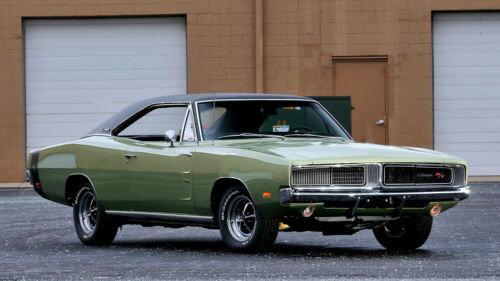 """1969 Dodge Charger RT Car Auto Art Silk Wall Poster 24x36/"""""""