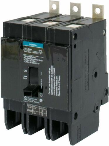 15 Amps BQD315 Siemens 277//480 Number of Poles: 3 Bolt On Circuit Breaker