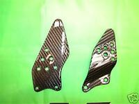 For Kawasaki Zx-6r Zx6r 05-06 Real Carbon Heel Savers
