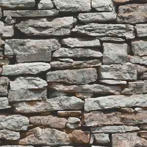 Muro marocchino pietra grigia carta da parati da arthouse for Carta parati grigia