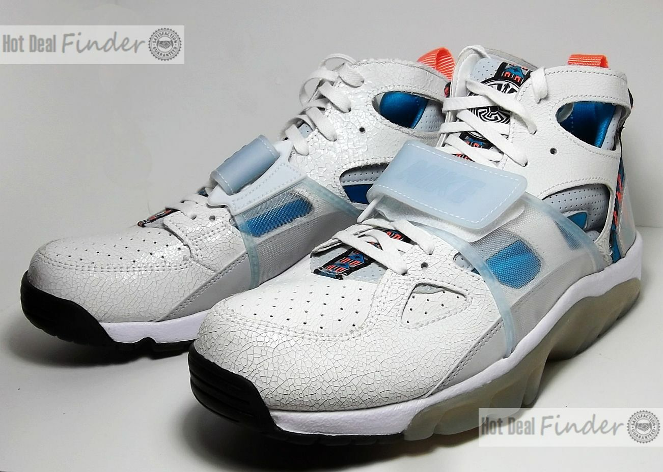 Nike air trainer = 9,5 - = huarache prm - 9,5 super - bowl - - schuhe 647591-101 bc071e