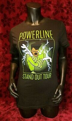 Xl Disney S Powerline Stand Out Tour T Shirt A Goofy Movie Goof Troop Ebay