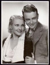 actor LEW AYRES marries LOLA LANE singer actress 1931 VINTAGE ORIG PHOTO