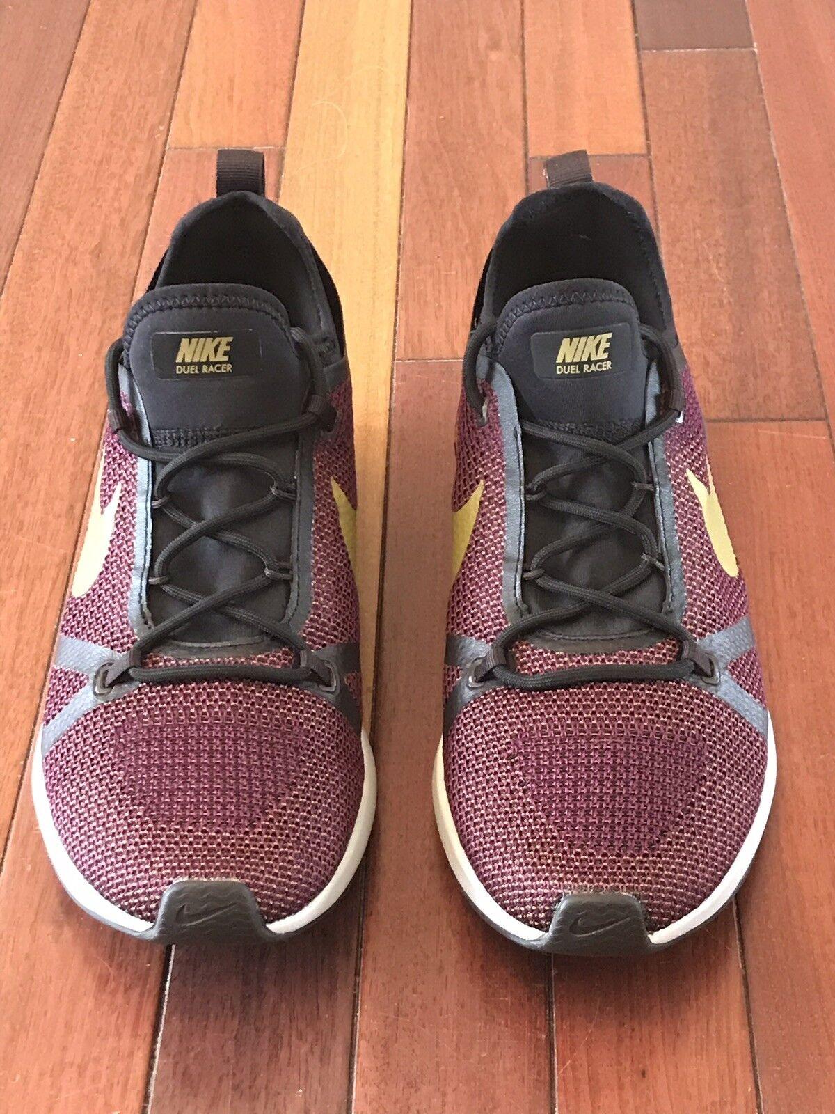 Nike Dual Dual Dual Racer 918228-601 Bordeaux Desert Moss Men's Running shoes Size 9 6ada82