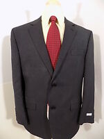 $250 Izod Mens Sport Coat Sz 44 S Navy Blazer 2 Buttn Regular Fit Jacket