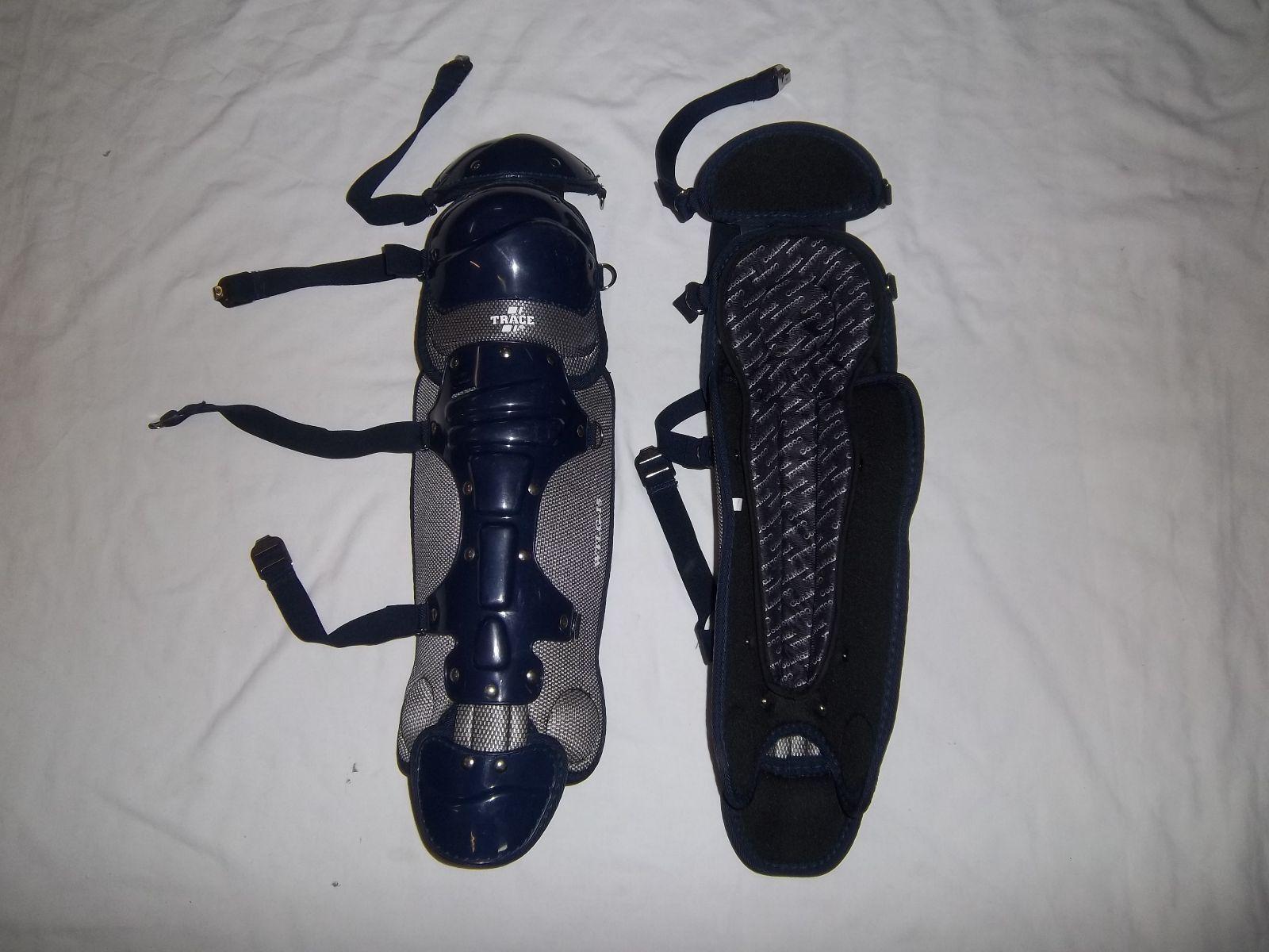 TRACE WTLG15 YOUTH ADULT  BASEBALL SOFTBALL LEG GUARD (VARIOUS COLORS)