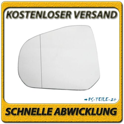 Spiegelglas für SUZUKI ALTO V 2009-2015 links Fahrerseite asphärisch