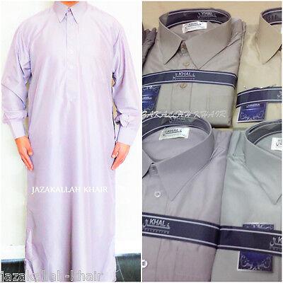 Herzhaft Arab Dress Thobe-jubba-arab Dress- 56-62 (7 Colours)-collar & Cuffs HeißEr Verkauf 50-70% Rabatt