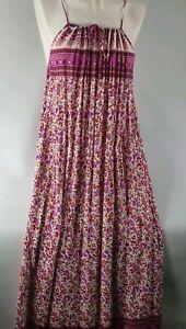 Lily-Whyt-Purple-Boho-Indian-Design-Dress-Sz-10