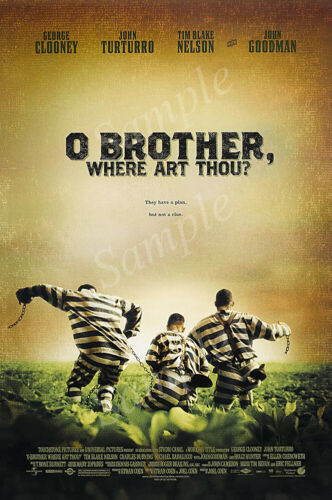PRM562 Posters USA O Brother Where Art Thou Movie Poster Glossy Finish