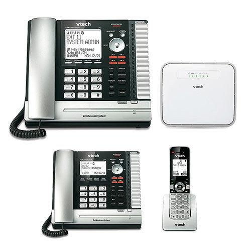 UP407 ErisBussiness Phone w// Extension Desksets Vtech UP416 UP406