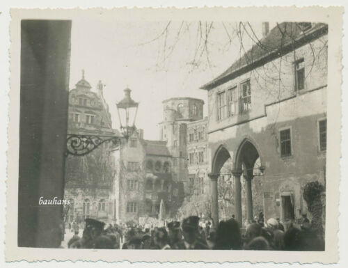 Foto Heidelberg-Schloß um 1930  (E287)