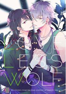 Heart ni hi o tsukete Ensemble Stars Boys Love Doujinshi Rei x Koga Oogami