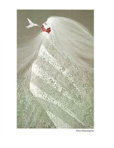 Frank Howell Quot White Hummingbird Quot Print Native American