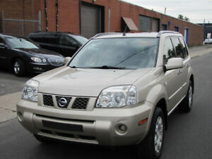 2005 Nissan X-Trail SE 4X4 DE LUXE