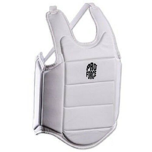 Ultra Lite Chest Guard Body Predector for Karate Tae Kwon Do Youth Adult - White