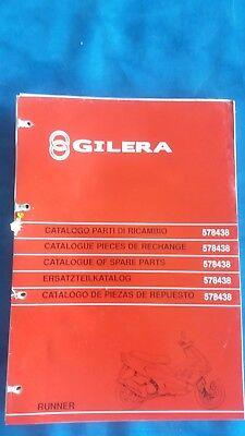 Catalogo Parti Di Ricambio Gilera Runner 1997 1998 Spare Parts 578438 Design Professionale