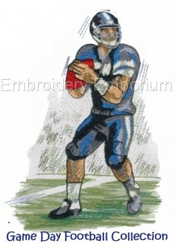 GAME DAY FOOTBALL COLLECTION MACHINE EMBROIDERY DESIGNS ON CD OR USB