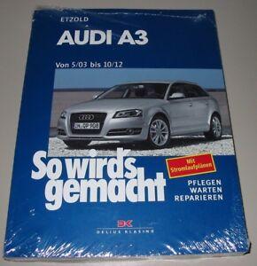 Cabrio Benzin Reparaturanleitung Audi A3 Mit Sportback 8p Diesel Ab 2003 Neu
