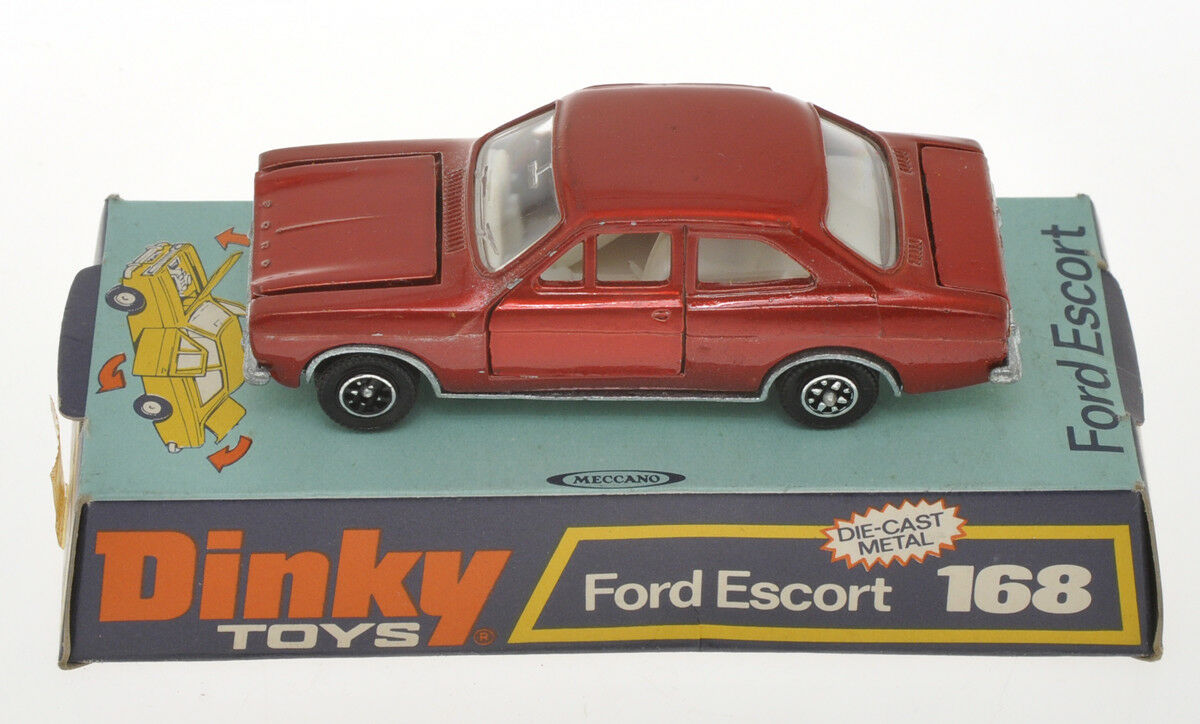 Dinky Toys 168 Ford Escort, new in box, nuova in box
