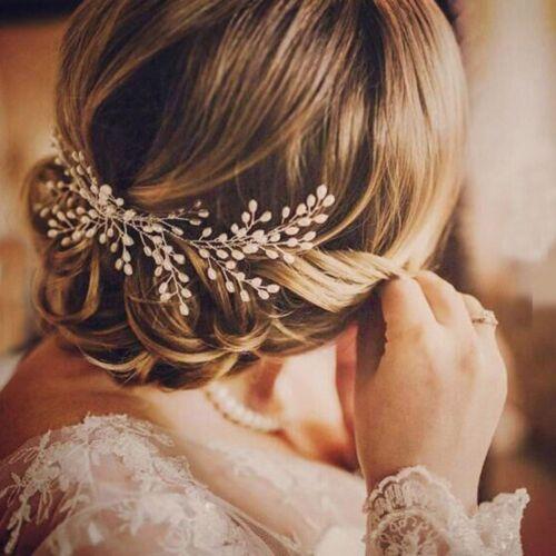 Handmade Wedding Prom Pearl Hair Comb Hair Ornaments Bridal Hairpin Headpiece