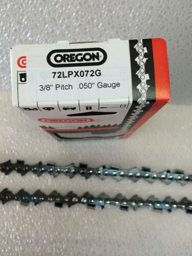"""3 Pack Oregon 72LPX072G Chainsaw Chain Full Chisel 20/"""" 3//8 .050"""