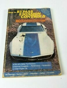 Bypass-Emission-Controls-GM-Cars-Trucks-Vans-1971-1977-Corvette-Stingray-Manual