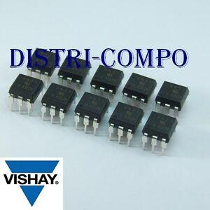 4N37-Optocoupleur-sortie-transistor-DIP-6-Vishay-RoHS-lot-de-10