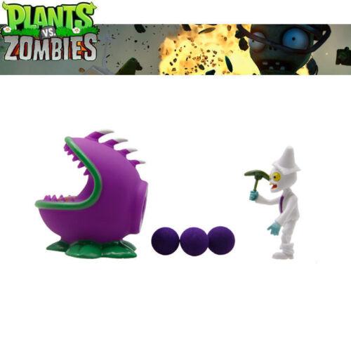 Le piante Vs Zombie BOCCALARGA ABS sparare proiettili Figura pvz Giocattolo Bambola Bambini Regalo