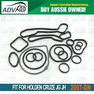 For-Holden-Cruze-JG-JH-Oil-Cooler-Repair-Seal-Kit-1-8L-F18D-Astra-Barina-2007-ON