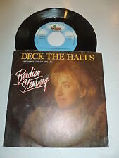 "BERDIEN STENBERG - Deck the halls with boughs of holly - 1986 Dutch 7"" Juke Box"