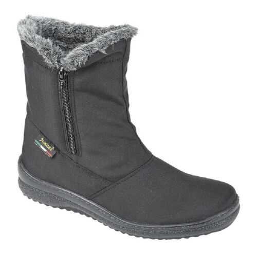 Mod Comfys Side Zip Warm Lined Winter Winter Winter Blizzard Ankle Stiefel Ladies UK ... cbbcc9