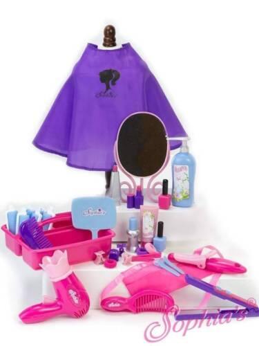 "Hair Salon Set Pretend Play for 18/"" American Girl Dolls /& 15/"" Dolls"